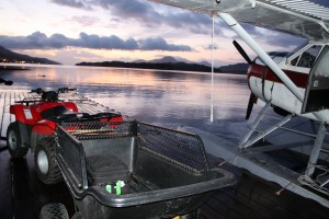 Flying from Ketchikan to Prince of Wales Island